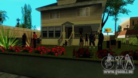 Party in Jefferson für GTA San Andreas dritten Screenshot