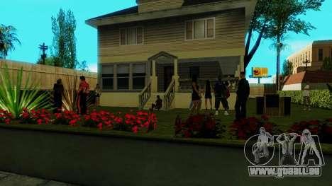 Party in Jefferson für GTA San Andreas dritten Screenshot