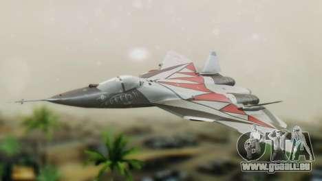 T-50 PAK-FA -Akula- pour GTA San Andreas