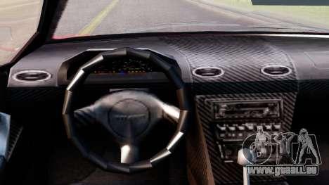 Pegassi Infernus Cento Miglia pour GTA San Andreas vue de droite