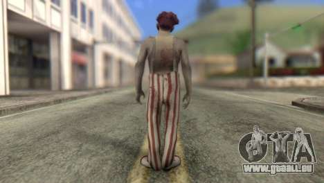 Zombie Clown from Left 4 Dead 2 für GTA San Andreas zweiten Screenshot