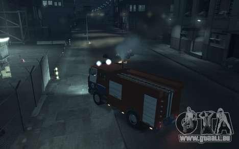 MAZ 533702 das Ministerium von Notsituationen vo für GTA 4 rechte Ansicht
