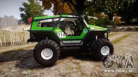 Tiger 4x4 für GTA 4 linke Ansicht