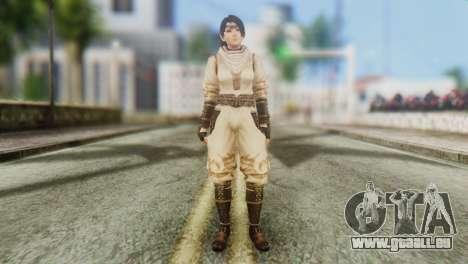 Dead Or Alive 5 Ultimate Momiji Costume 2 pour GTA San Andreas deuxième écran