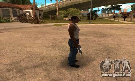 Deagle White and Black pour GTA San Andreas troisième écran