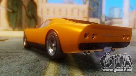 GTA 5 Pegassi Monroe pour GTA San Andreas laissé vue