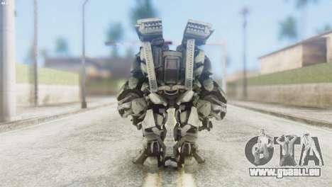 Des Titan Skin from Transformers pour GTA San Andreas troisième écran