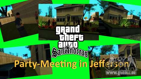 Party in Jefferson für GTA San Andreas