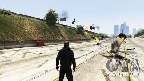 GTA 5 La télékinésie troisième capture d'écran