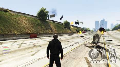 GTA 5 Telekinese dritten Screenshot