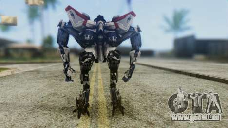 Starscream Skin from Transformers v1 für GTA San Andreas dritten Screenshot