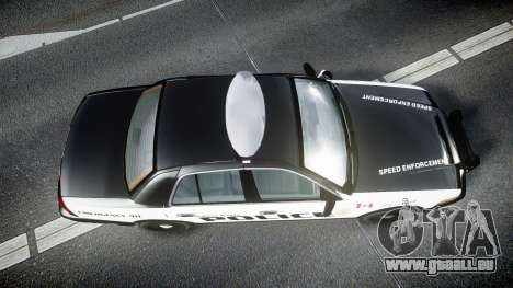 Ford Crown Victoria Alderney Police pour GTA 4 est un droit