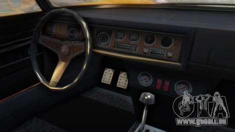 GTA 5 Pegassi Monroe pour GTA San Andreas vue de droite