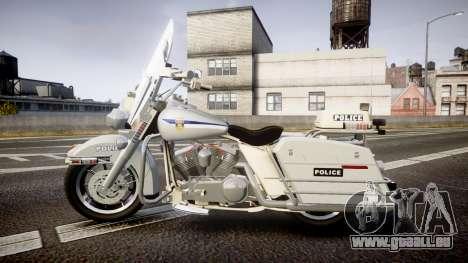 Harley-Davidson FLH 1200 SPVQ [ELS] pour GTA 4 est une gauche