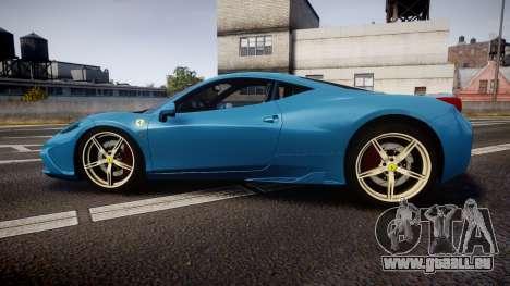 Ferrari 458 Speciale 2014 pour GTA 4 est une gauche
