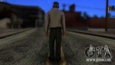 GTA 5 Skin 6 pour GTA San Andreas deuxième écran