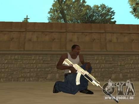 Chameleon Weapon Pack pour GTA San Andreas cinquième écran
