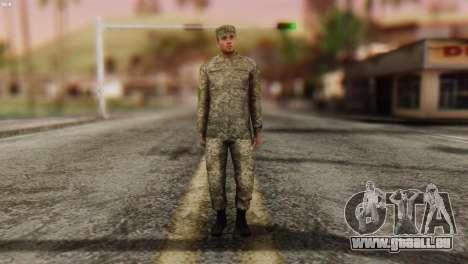 Ein Mitglied Der Streitkräfte Der Ukraine für GTA San Andreas zweiten Screenshot