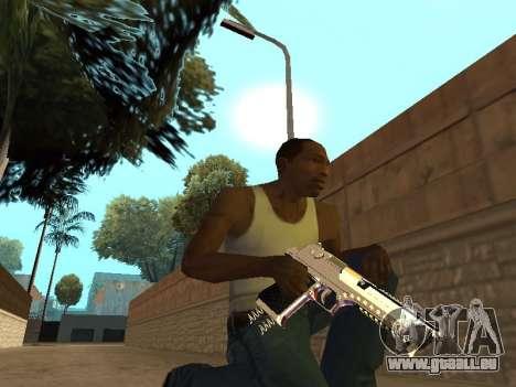 Chameleon Weapon Pack pour GTA San Andreas sixième écran