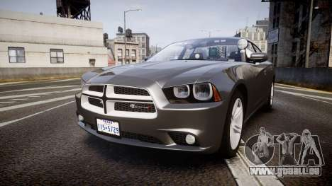Dodge Charger Traffic Patrol Unit [ELS] rbl für GTA 4