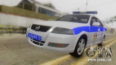 Nissan Almera Iraqi Police pour GTA San Andreas