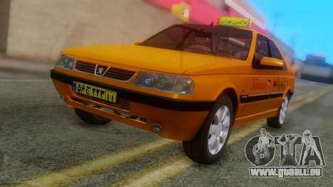 Peugeot 405 Slx Taxi pour GTA San Andreas