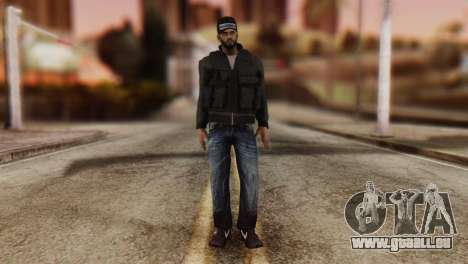 Desmadroso Skin v8 pour GTA San Andreas deuxième écran