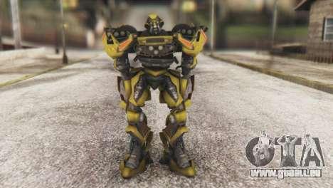 Ratchet Skin from Transformers v1 für GTA San Andreas zweiten Screenshot