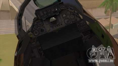 Grumman F-14A IRIAF pour GTA San Andreas vue arrière