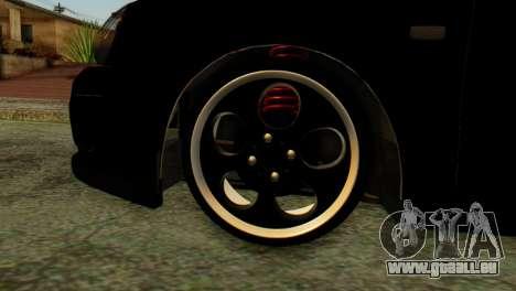 VAZ 2172 Coupé pour GTA San Andreas sur la vue arrière gauche