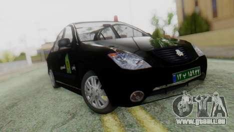 SAIPA Tiba Police v1 für GTA San Andreas
