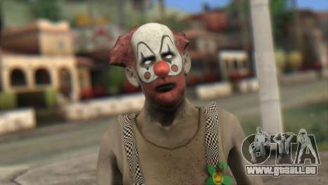 Zombie Clown from Left 4 Dead 2 für GTA San Andreas dritten Screenshot