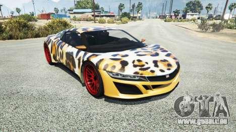 Dinka Jester (Racecar) Leopard für GTA 5