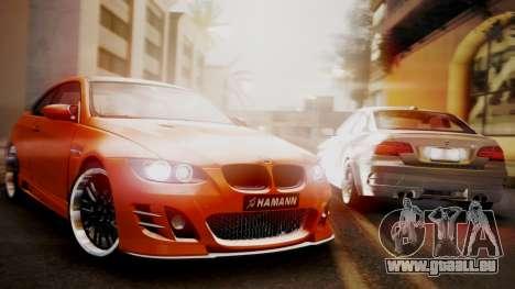 BMW M3 E92 Hamman pour GTA San Andreas