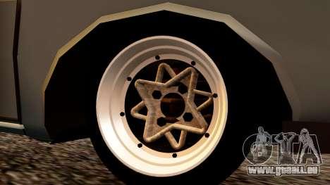 Dacia 1300 Tuning für GTA San Andreas zurück linke Ansicht