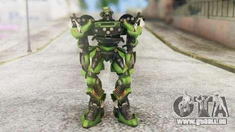 Ratchet Skin from Transformers v2 für GTA San Andreas zweiten Screenshot