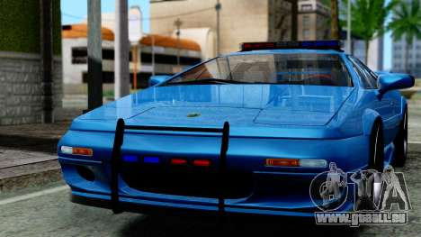 Lotus Esprit S4 V8 1998 Police Edition pour GTA San Andreas