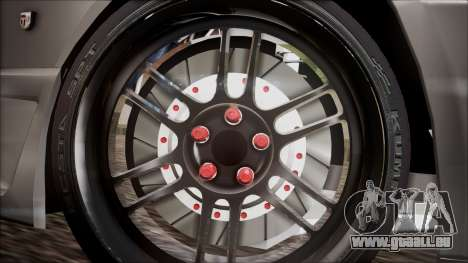 Nissan Skyline R32 für GTA San Andreas zurück linke Ansicht