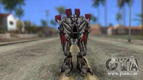 Air Raide Skin from Transformers pour GTA San Andreas