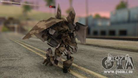 Breakaway Skin from Transformers pour GTA San Andreas