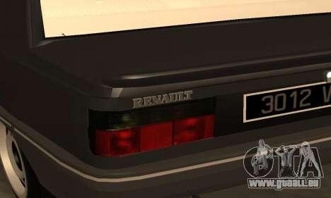 Renault 9 TSE 1992 für GTA San Andreas Seitenansicht
