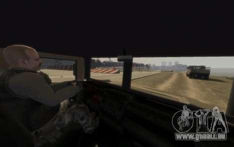 GTA 5 Millitary Patriot für GTA 4 hinten links Ansicht