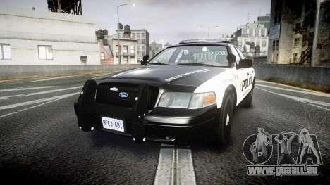 Ford Crown Victoria Alderney Police pour GTA 4