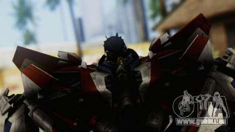 Starscream Skin from Transformers v1 pour GTA San Andreas
