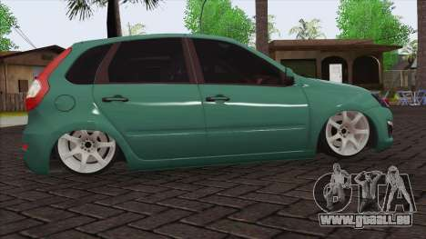Lada 2118 Kalina 2 für GTA San Andreas Rückansicht