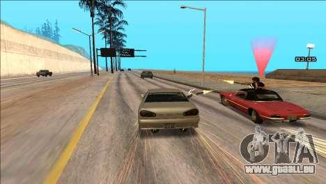 COP Plus pour GTA San Andreas quatrième écran