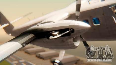 DHC-6-300 Twin Otter pour GTA San Andreas vue de droite