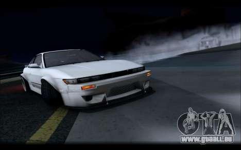 Nissan Silvia S13 Rocket Bunny für GTA San Andreas