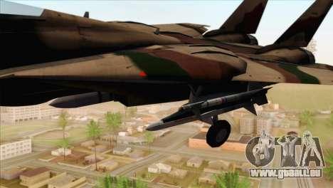 Grumman F-14A IRIAF pour GTA San Andreas vue de droite
