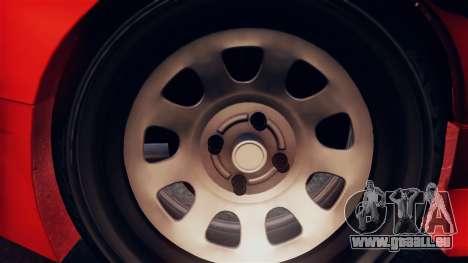 Nissan Onevia pour GTA San Andreas vue arrière